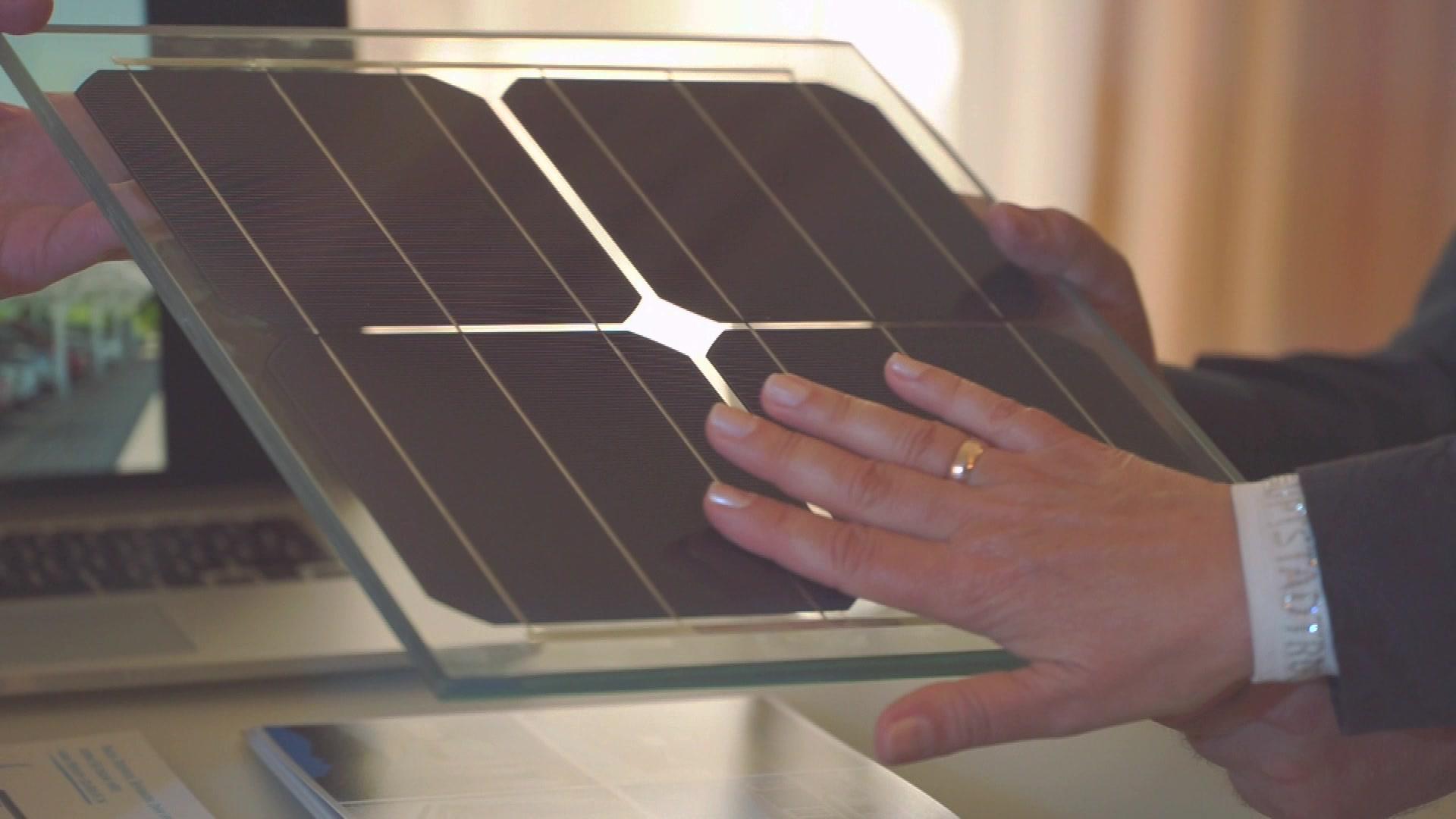 Premium Solarglas Musterbox