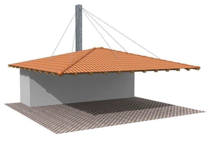 Beispiel 7 Design & Pultdach Carport