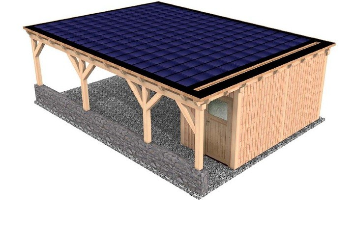 flachdach carport individuell preiswert hier planen mit 3d solarterrassen carportwerk gmbh. Black Bedroom Furniture Sets. Home Design Ideas