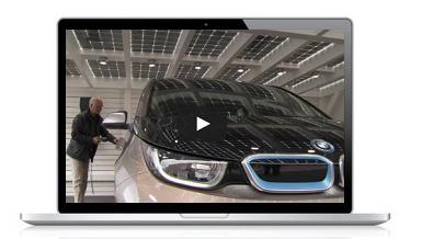 Solarcarport, Solarwatt und BMW I auf der IAA