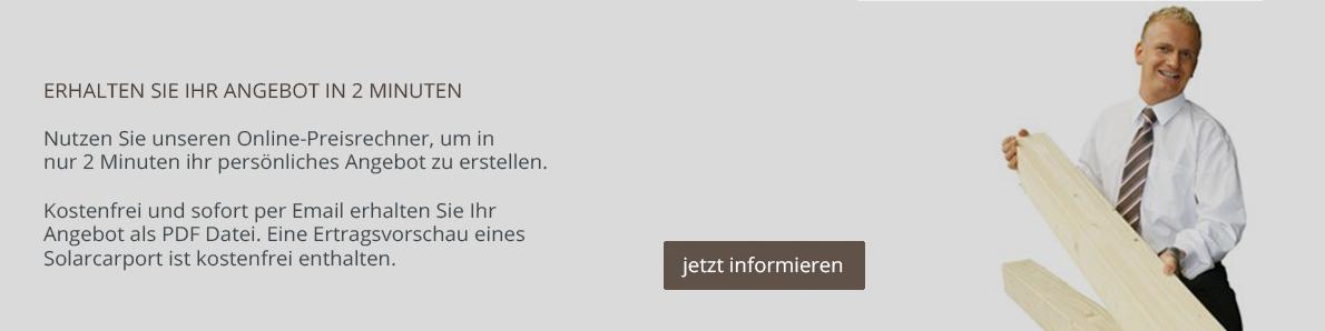 Carport Online Konfigurator
