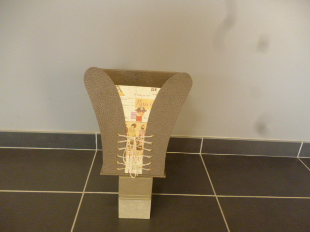 corbeille corset de l'oncle paul fait par yveline