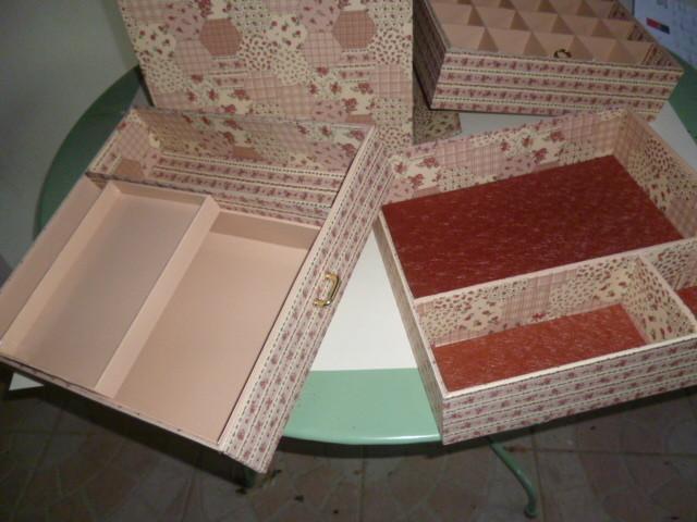 casiers de la boite de Nicole