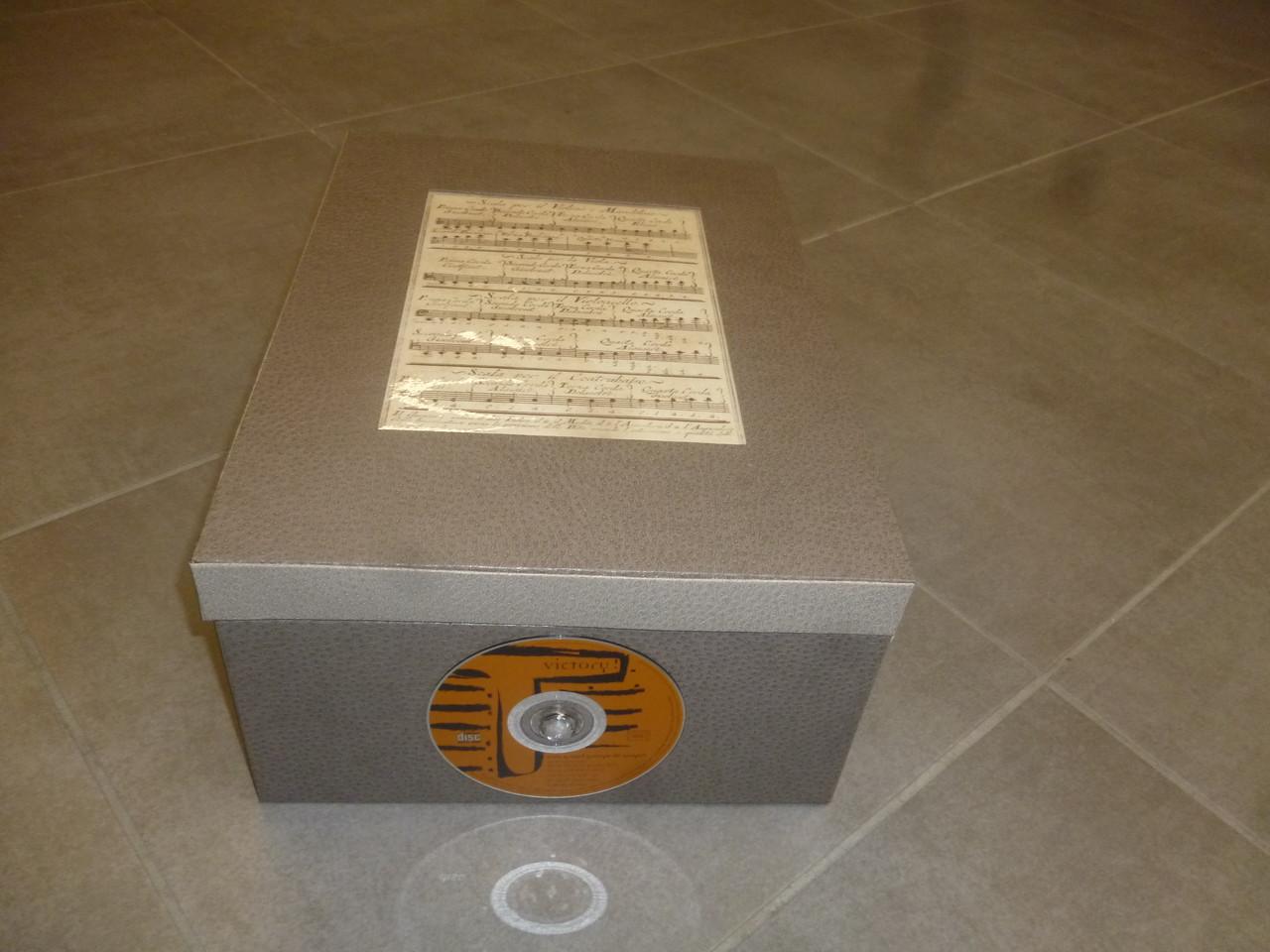 belle boite à cd de jacqueline