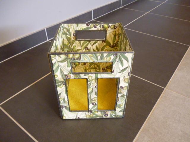 casier à bouteille papier citron pour le vin de citron de lylianne