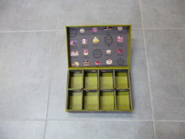 boite à thé de lylianne ouverte