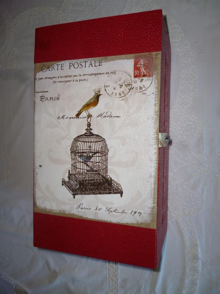 grande boite à cartes postale