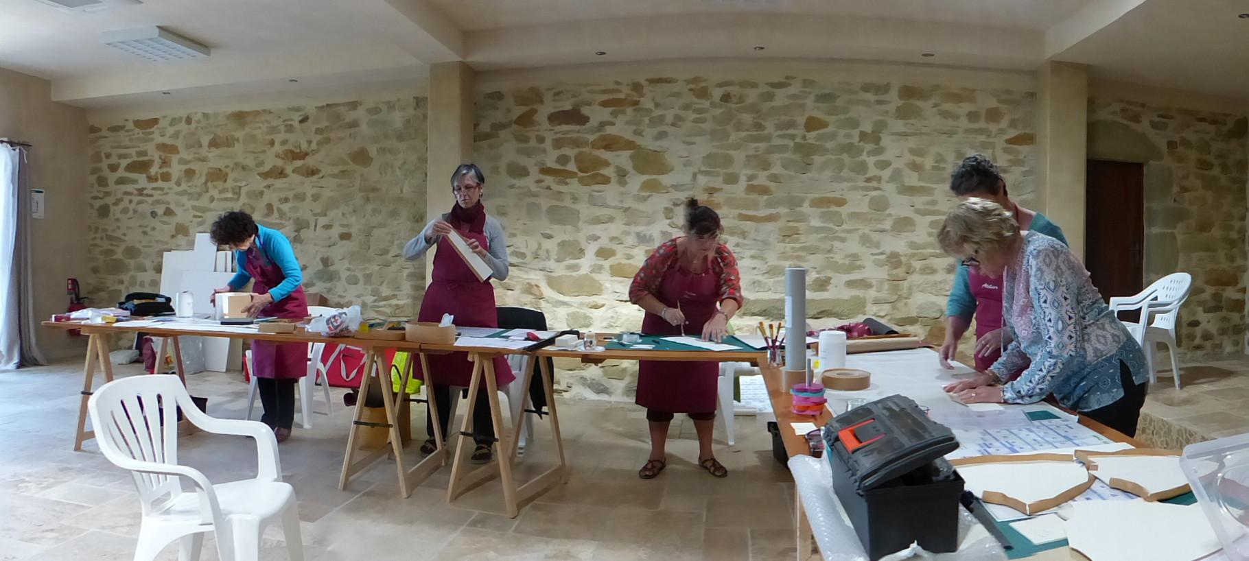 salle des cours Nathalie et Monique