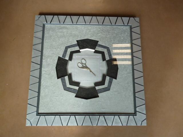 polygone à 16 cotés de annie avec cadre carton