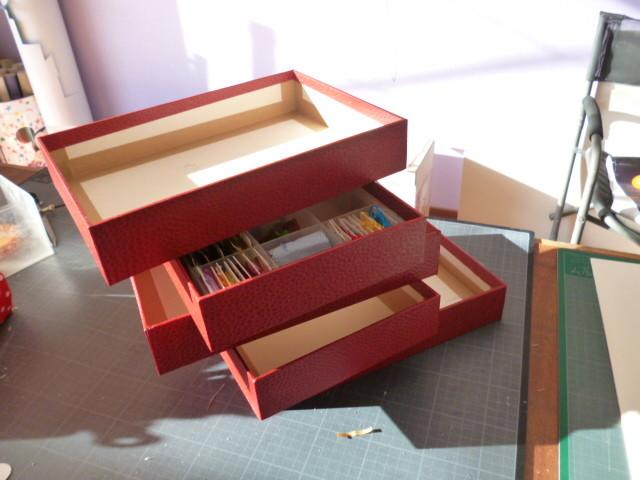casiers de notre nouvelle boite à fils