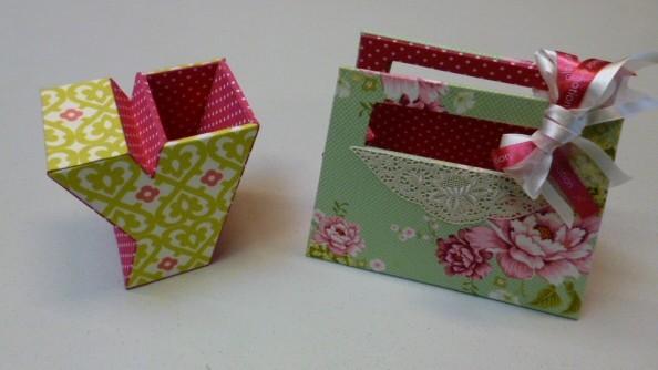 création d'un petit sac à gants de yumi