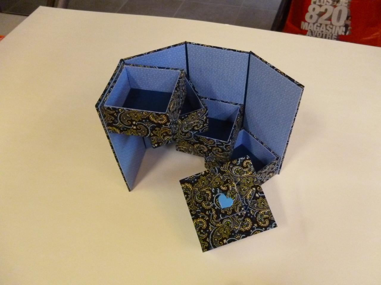 boite échelle de domique