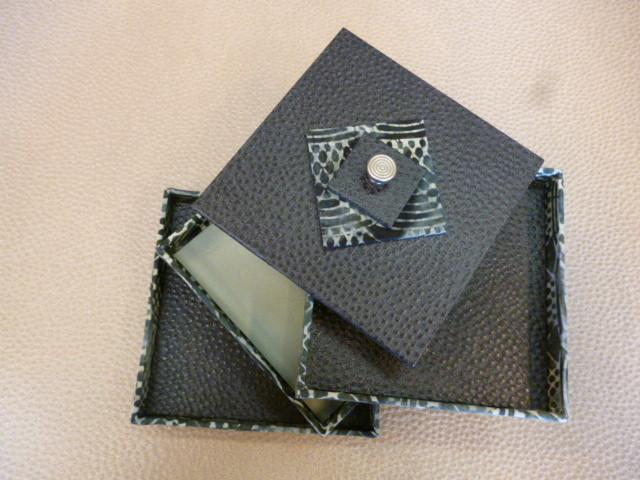 boite de jacqueline modèle de sandra hoseini