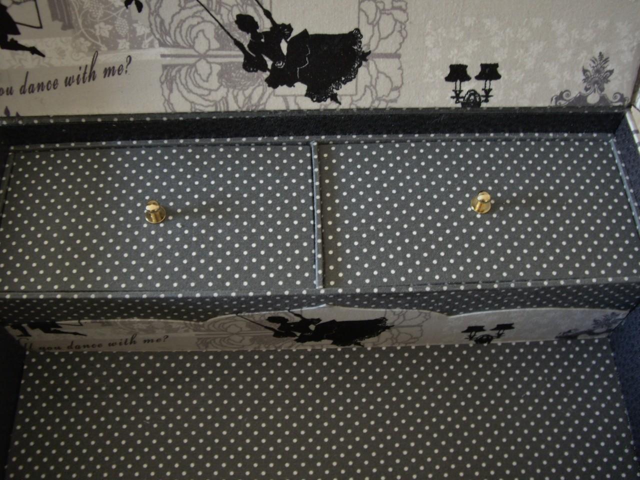 boutons de dessus des tiroirs