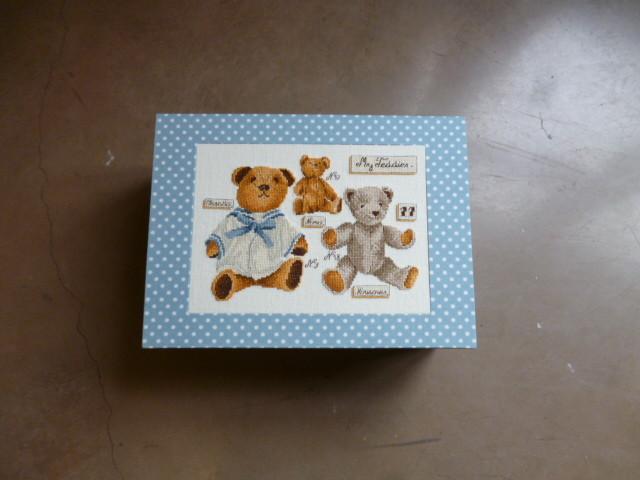 broderie petits ours boite de jean pierre