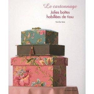 jolies boites habillées de tissu magnifiques