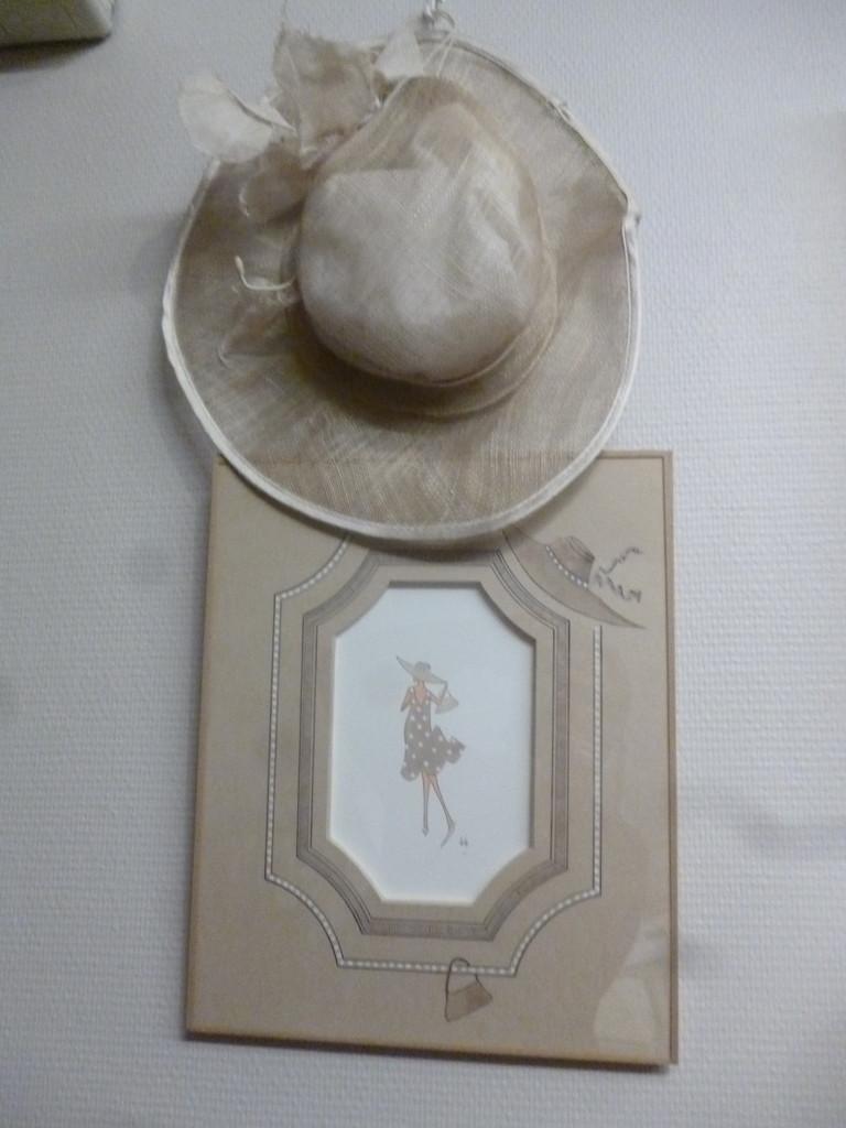 lavis de martine sur une aquarelle de laly