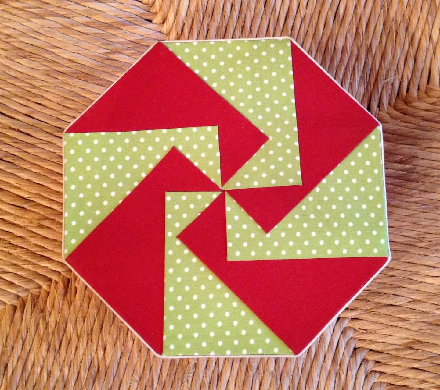 dessus forme octogonale