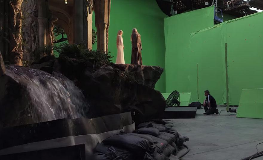 El Hobbit efectos especiales