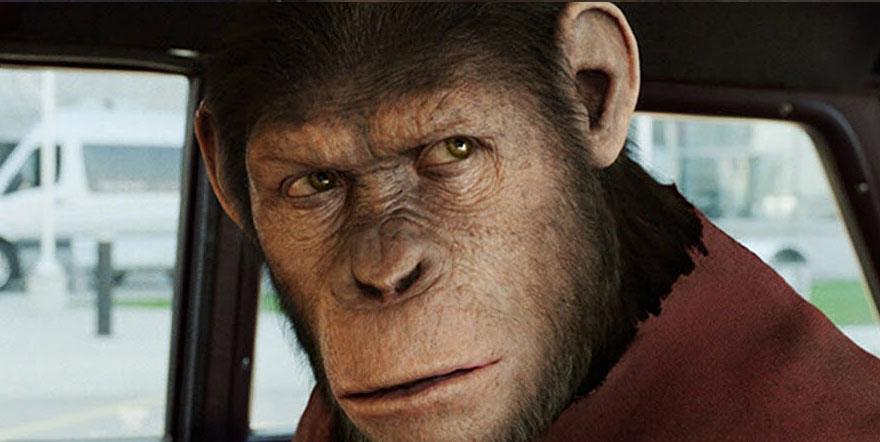 El origen del planeta de los simios efectos especiales
