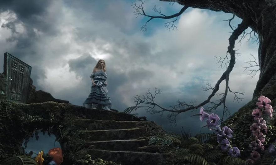 Alicia en el país de las maravillas efectos especiales