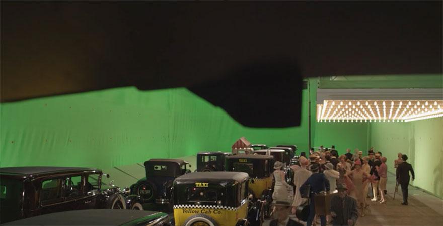 El gran Gatsby efectos especiales