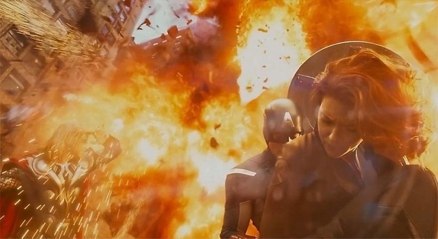 Los Vengadores efectos especiales