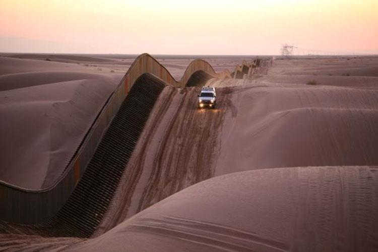Muro frontera entre México y EEUU
