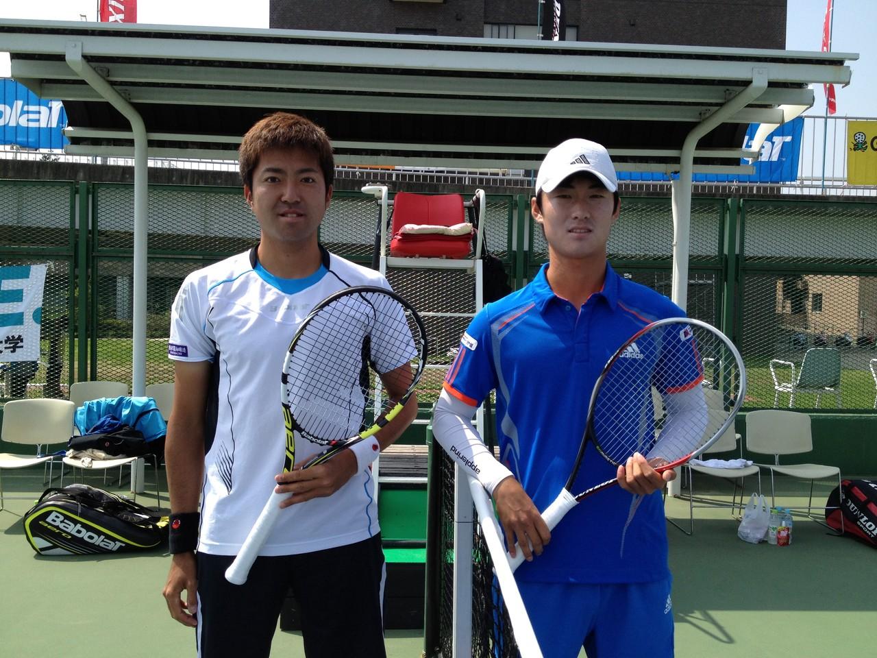 仁木 VS  KIM, Cheong-Eui