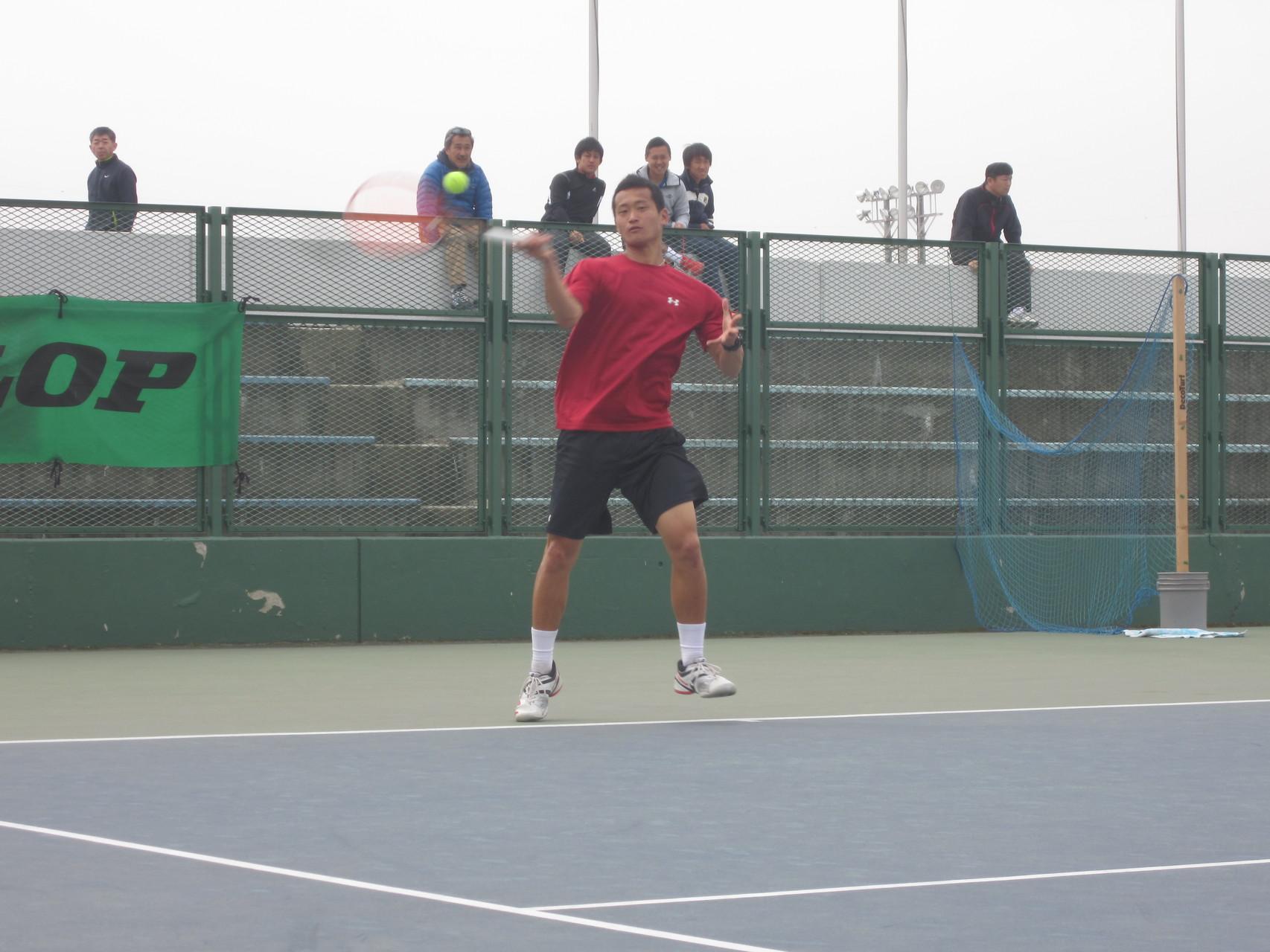 12.湯原雅人選手(Fテニス)