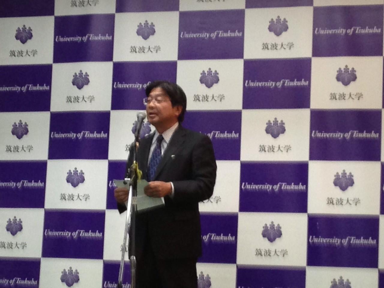 筑波都市整備(株)専務取締役 福田敬士