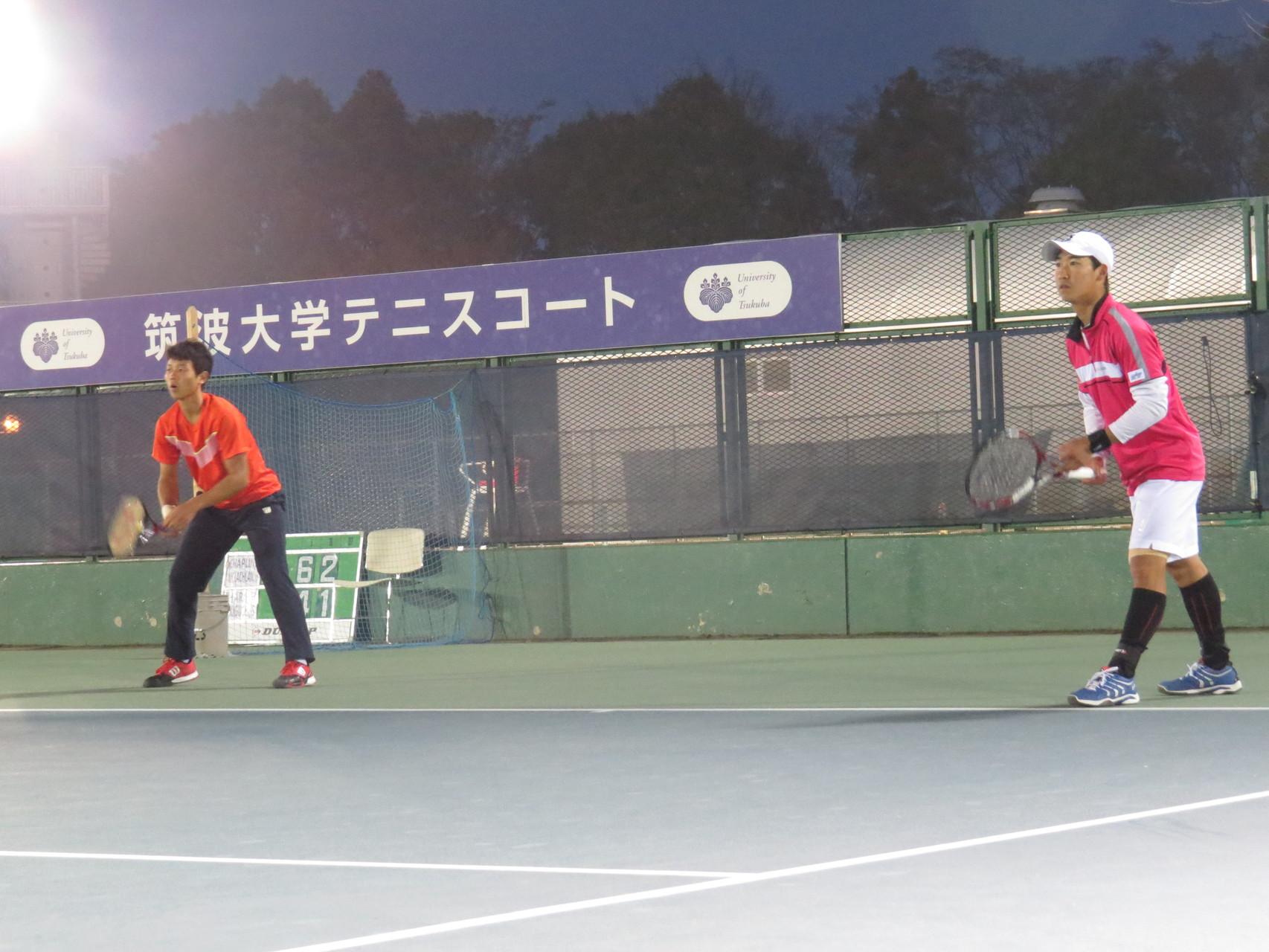 斉藤貴史(津幡町テニス協会)/綿貫裕介(橋本総業)