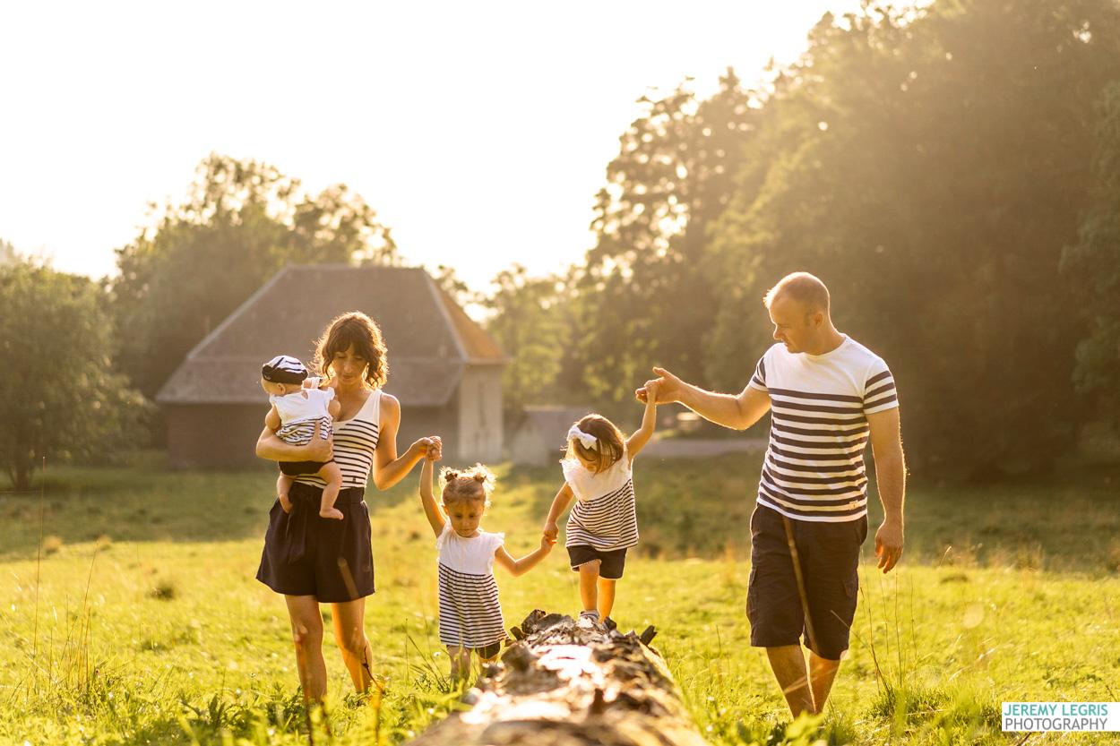 Séance photo Famille - Nancy, Julien, Angie, Amy et Chelsea