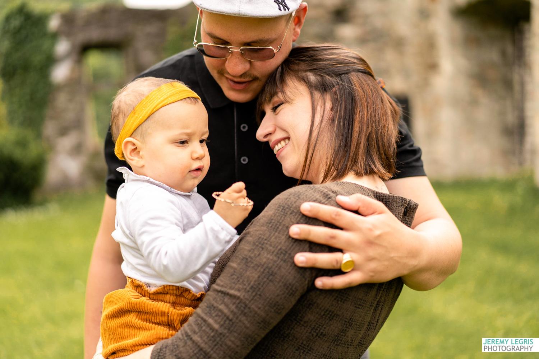 Séance photo Famille - Julie, Alex & Aria