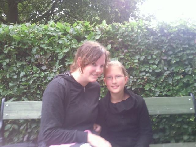 meine Cousine und ich