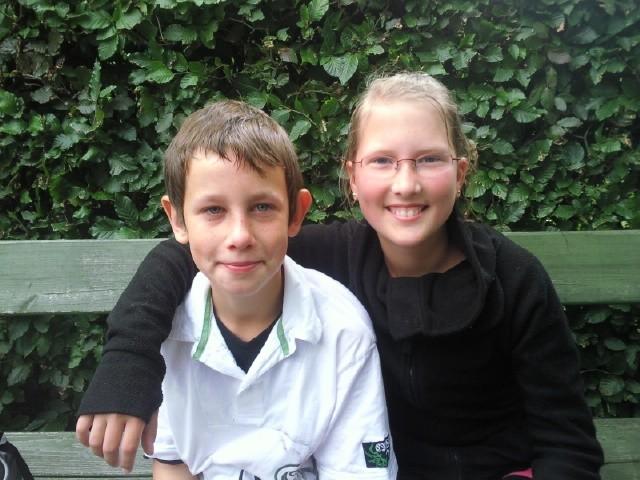 Mein Bruder und meine Cousine