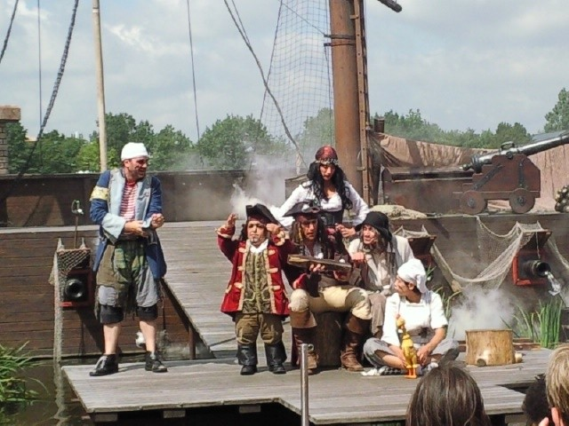 Die Piratenshow