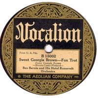 sweet georgia brown-clasicos del jazz-standards jazz