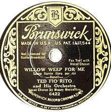 Wilow wee for me-clasicos del jazz-standards jazz