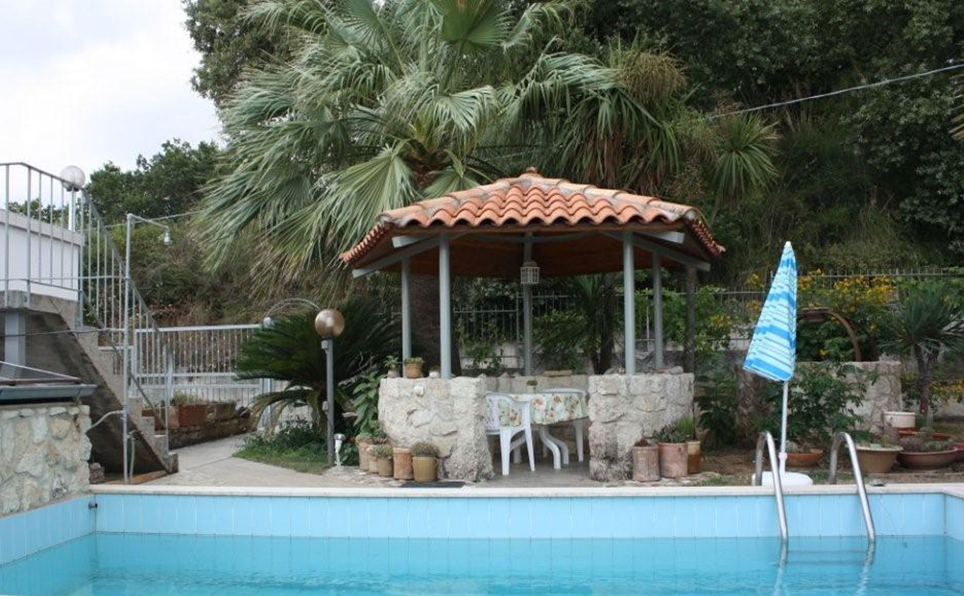Gartenpavillon © Ferienwohnung Spilinga | Tropea | Kalabrien - Casa Belle Vacanze