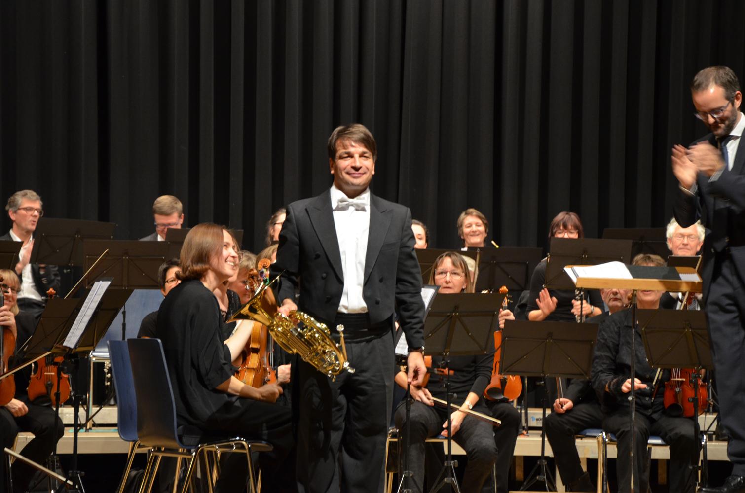 Solist Christian Holenstein