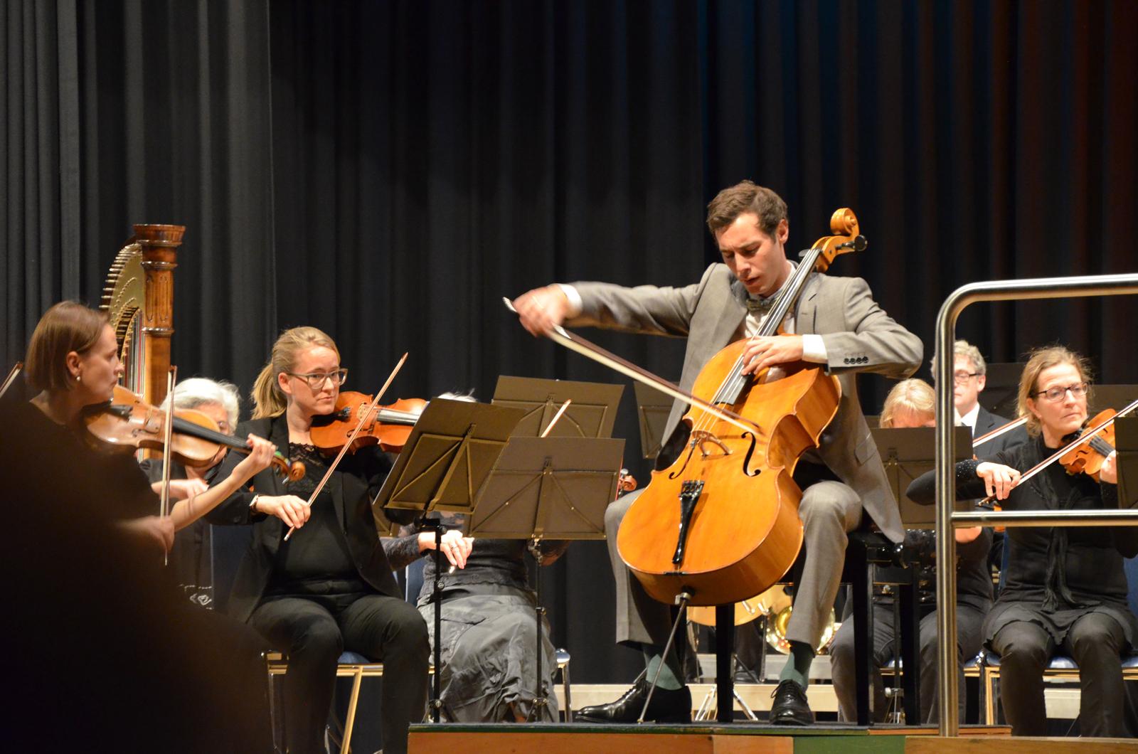 Solist Samuel Justitz