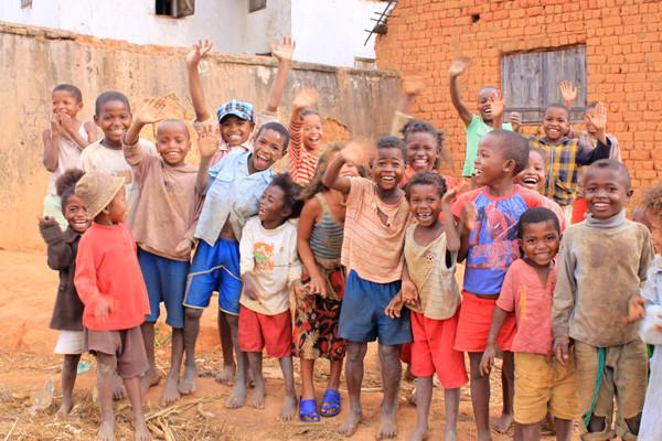 les enfants des villages