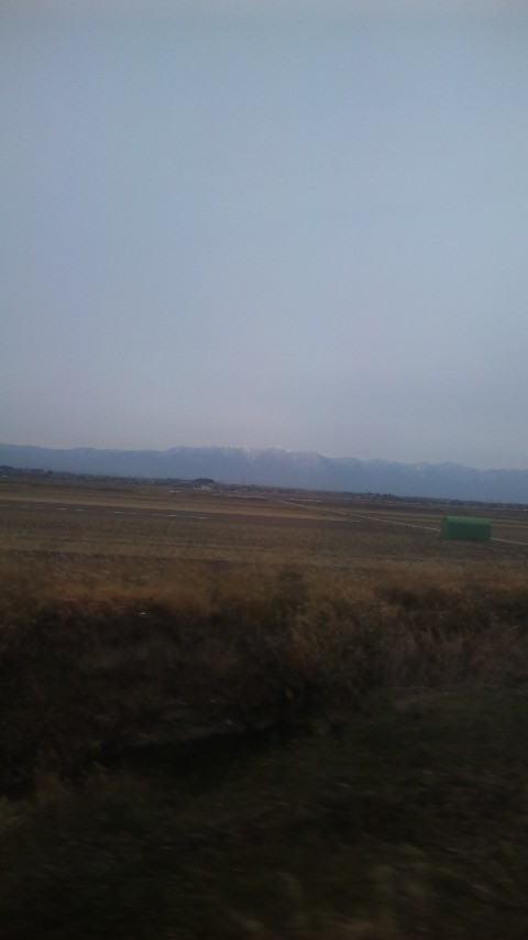 世界の車窓から。。。滋賀県^^;比良山系