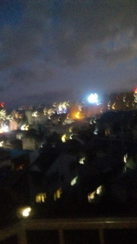 大津の夜景^^寒い。。。^^;
