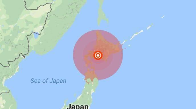 Erdbeben in Hokkaido 06.09.18