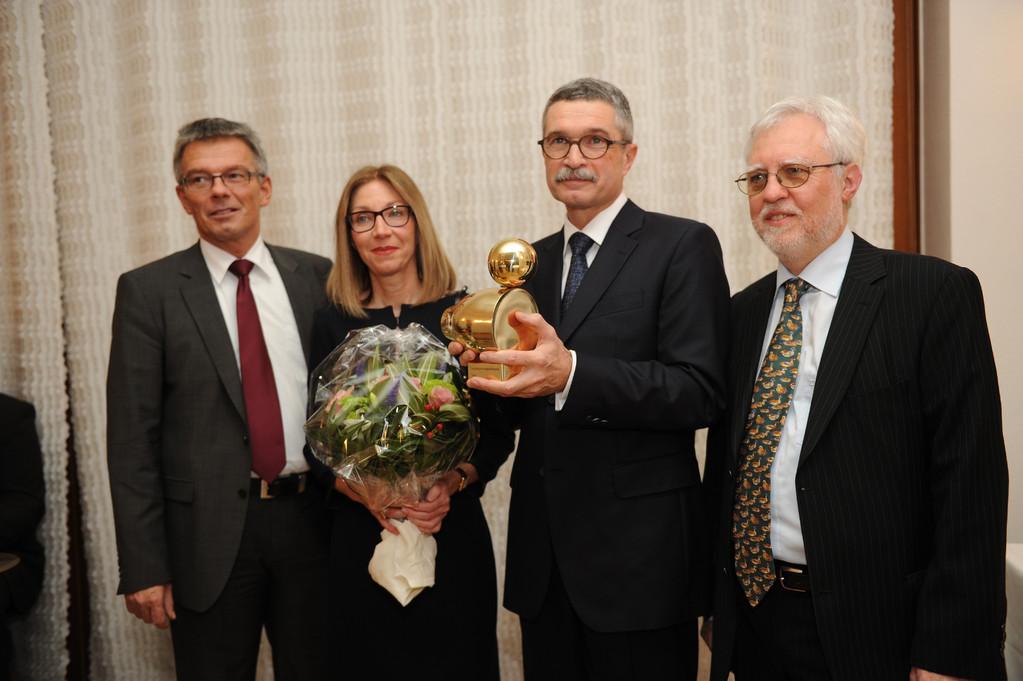 Josef Hecken, Annemarie Hauptmann, Dr. Gunter Hauptmann, Dr. Michael Kuderna