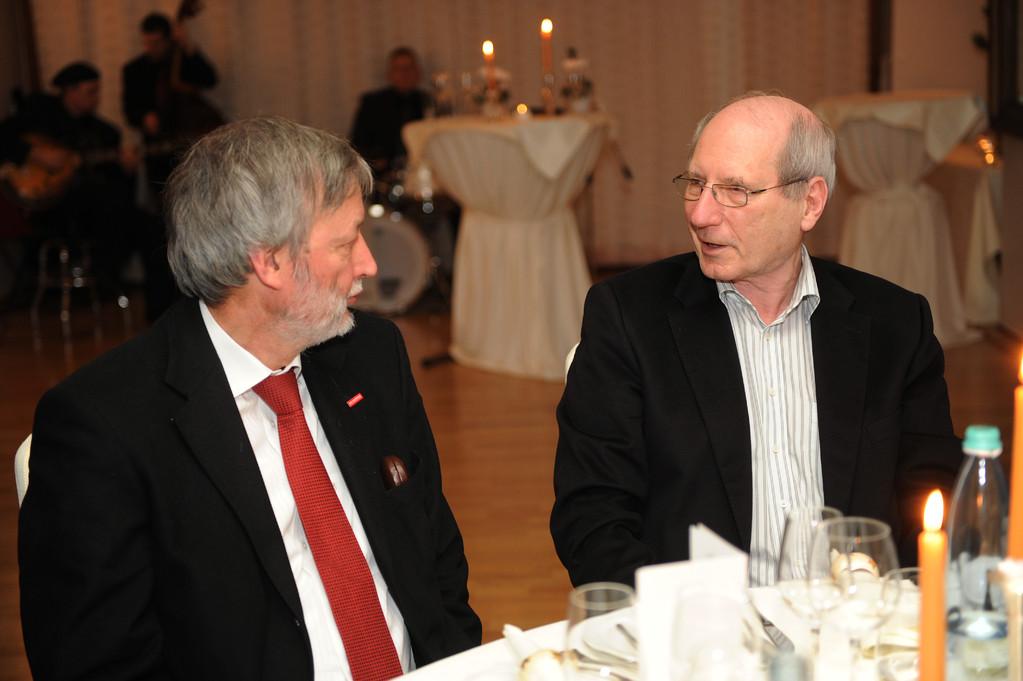Georg Brenner und Reinhold Klimmt