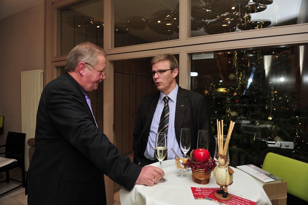 Lothar Warscheid und Jörg Hektor