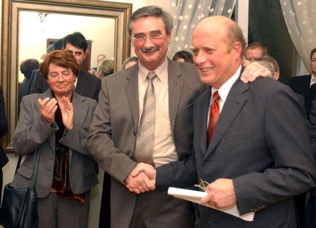 Ehepaar Linsler, Herbert Mai